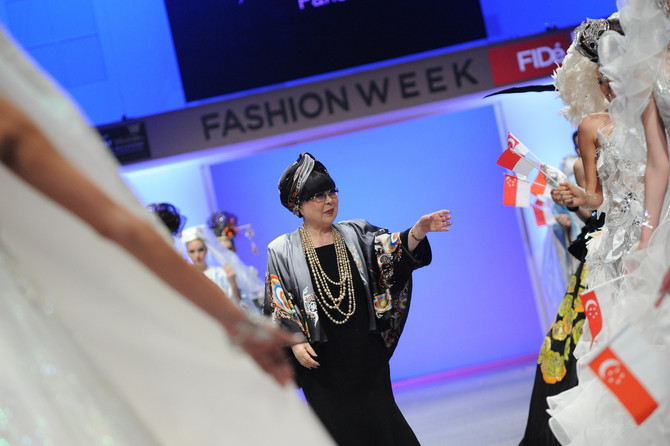 Yumi Katsura at FIDé Fashion Weeks<br/><br/>