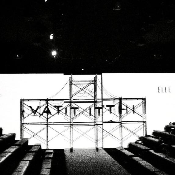 Vatit Itthi at Elle Fashion Week 2014 <br/><br/><br/>