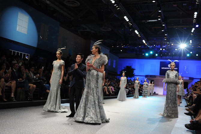 Sebastian Gunawan at FIDé Fashion Weeks<br><br/>