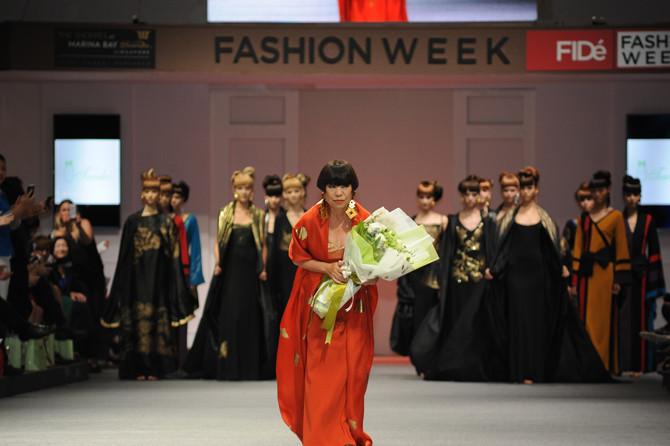 Junko Koshino at FIDé Fashion Weeks<br><br/>