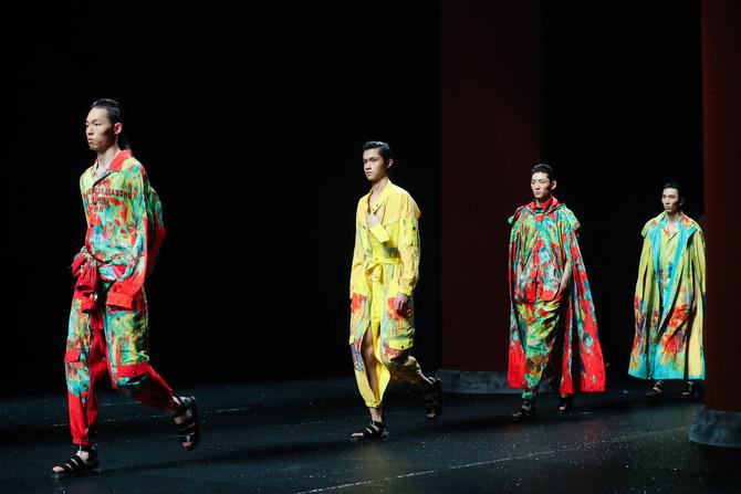 Songzio at at Jinan in Style International Fashion Week