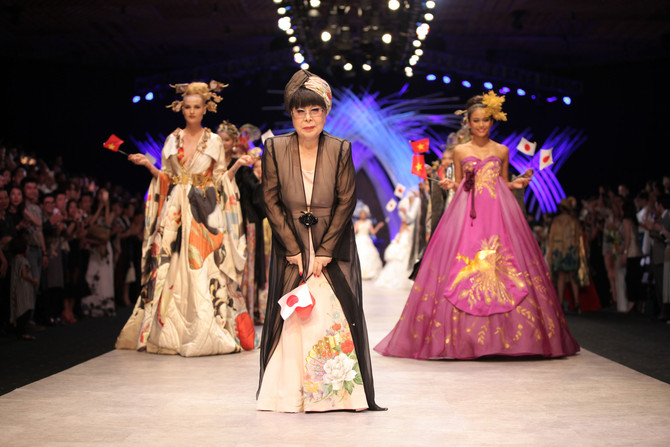 Yumi Katsura in Vietnam International Fashion weeks<br><br/>