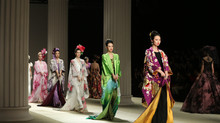 Yumi Katsura at Jinan in Style International Fashion Week