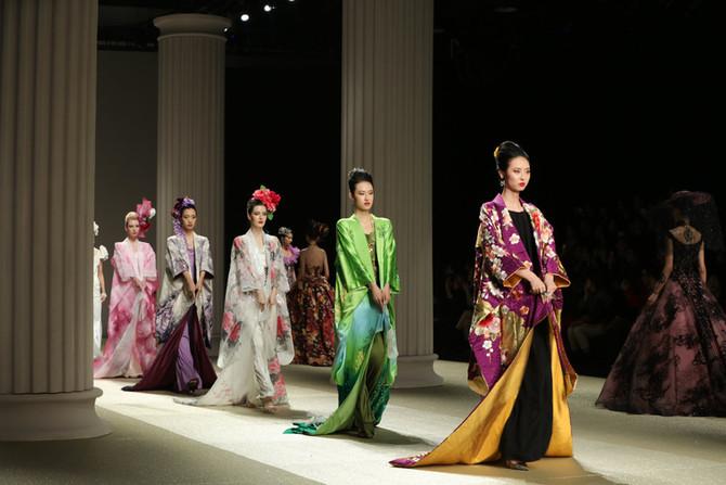 Yumi Katsura at Jinan in Style International Fashion Week