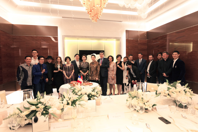 ACF Indonesia Dinner at the Raffles Hotel<br><br>