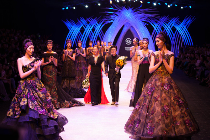 Sebastian Gunawan at Vietnam International Fashion Weeks