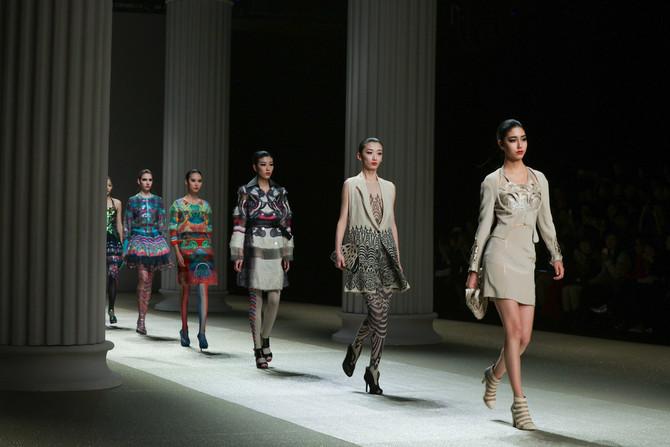 Lie SangBong at Jinan in Style International Fashion Week