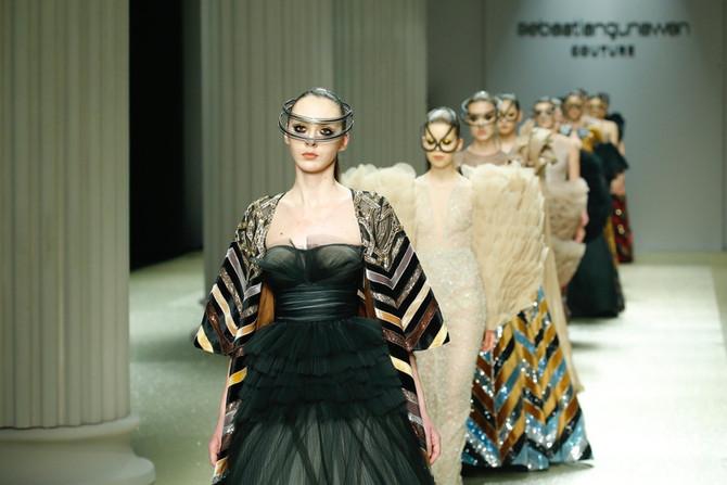 Sebastian Gunawan at Jinan in Style International Fashion Week