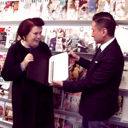 Suzy Menkes and ACF Lifetime Achievement Award <br/><br/>