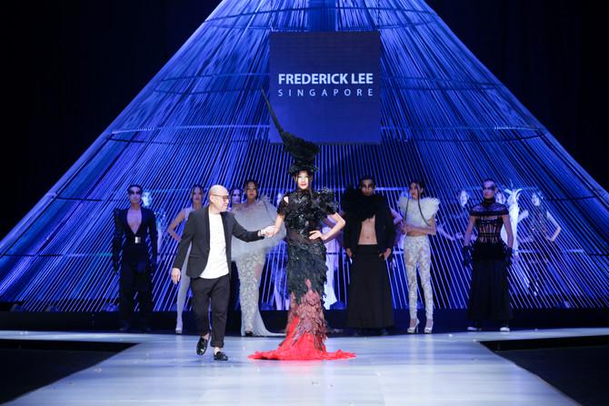 Frederick Lee at Vietnam International Fashion Week<br><br>