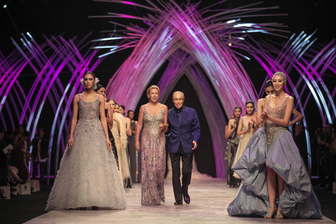 Renato Balestra at Vietnam International Fashion Weeks