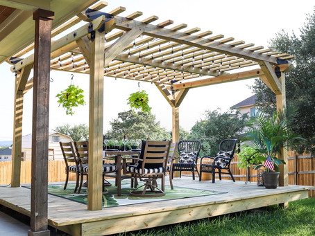 Pergolas - from the Ancient Egypt to China to your homes