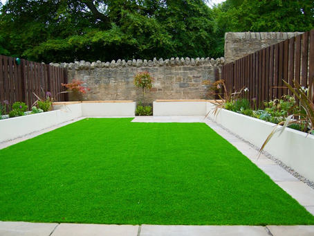 Beautify Your Landscape Artificial Turf installation