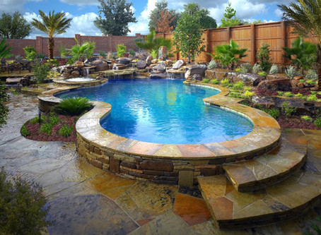 Pools and Spas - Your garden Oasis