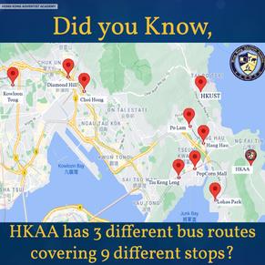 HKAA Bus Routes