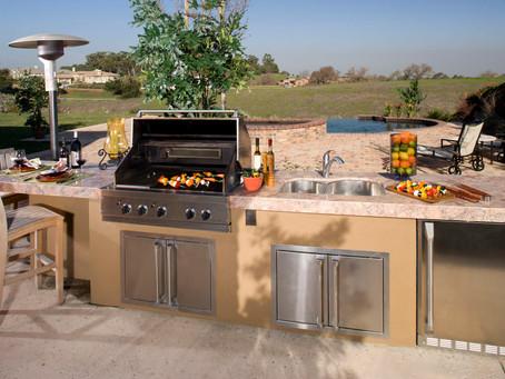 Outdoor Kitchen with 3D Design