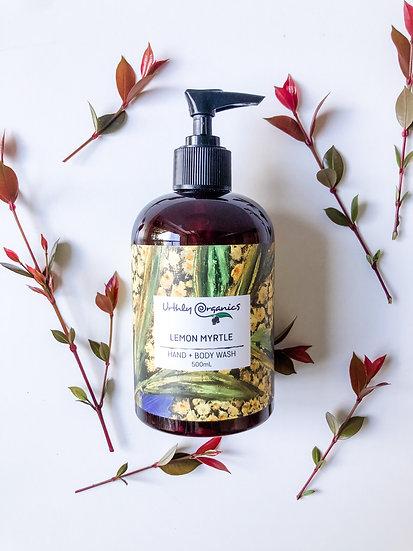 Urthly Organics - Lemon Myrtle Hand & Body Wash