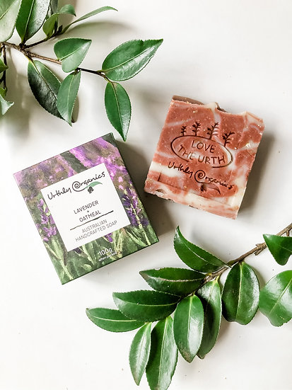 Urthly Organics - Lavender & Oatmeal Soap