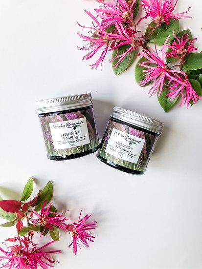 Urthly Organics - Lavender & Patchouli Body Cream