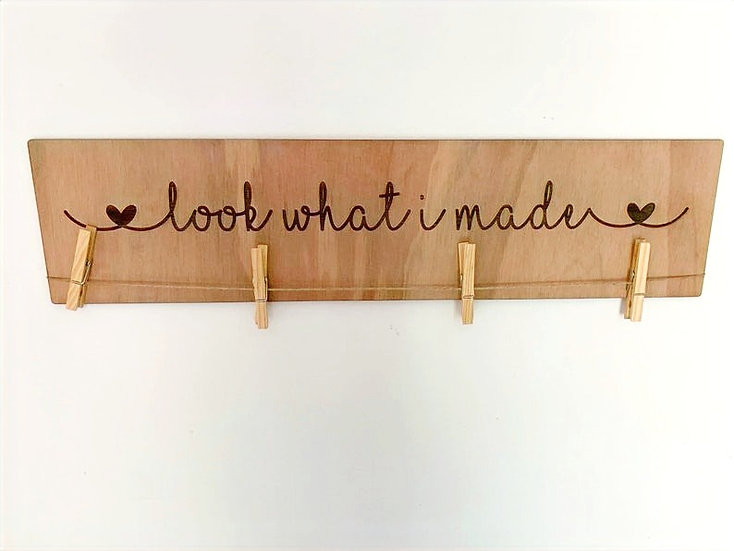 Playroom Wall Art - Customisable Wooden Sign