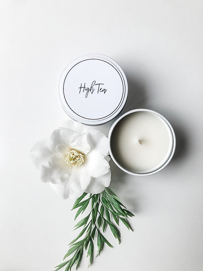 Haven Soy Candles  - High Tea Travel Tin