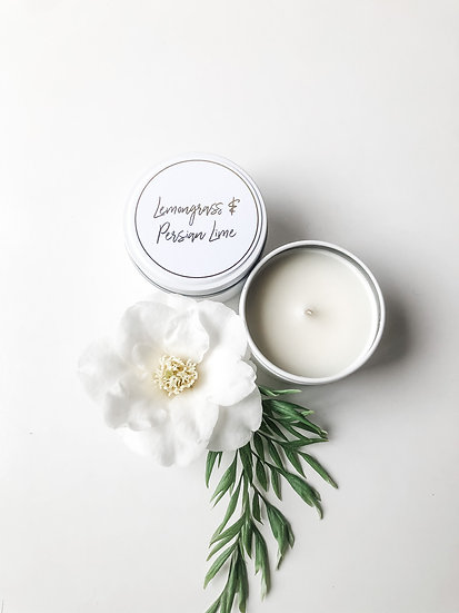 Haven Soy Candles - Lemongrass & Persian Lime