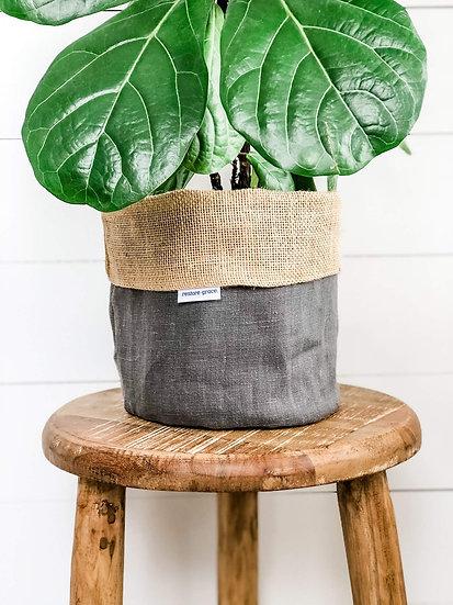 Handmade Plant Cover - Graphite