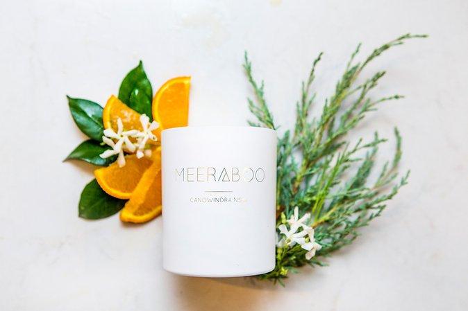 MEERABOO Soy Candle - Neroli & Cedar Leaf