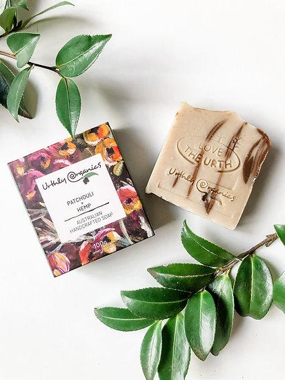 Urthly Organics - Patchouli & Hemp Soap