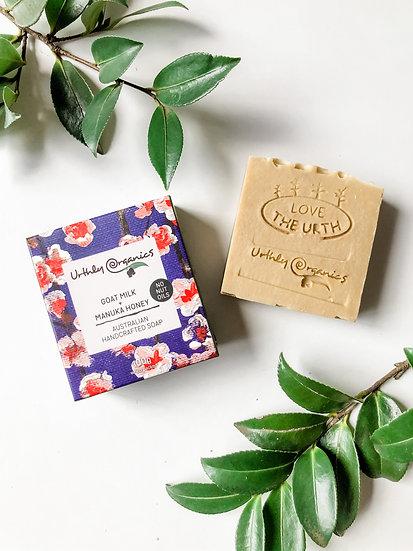 Urthly Organics - Goat Milk & Manuka Honey Soap
