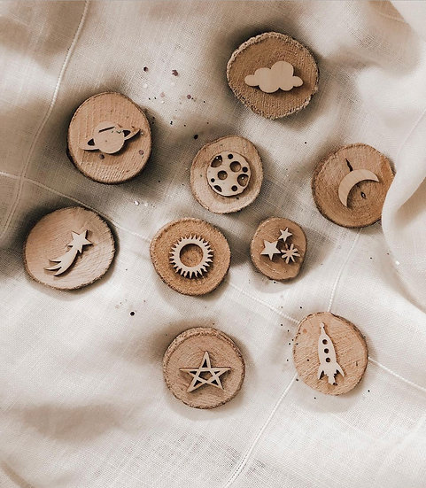 Wooden Stampers - Galaxy
