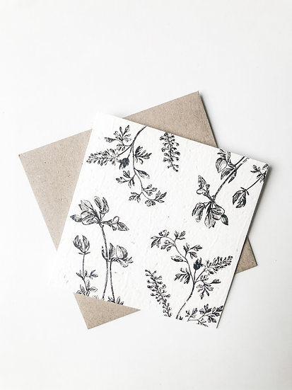 Plantable Gift Card - Flora