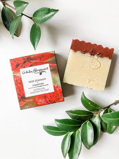 Urthly Organics - Rose Geranium & Cinnamon