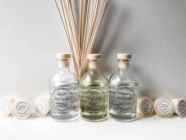 Haven Soy Reed Diffusers