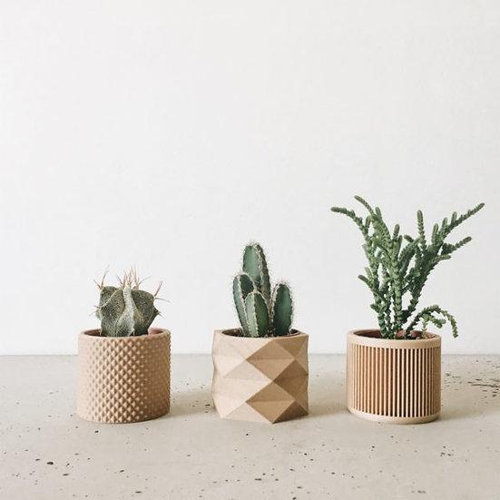 Piko Diamant Mini Planters - Set of 3