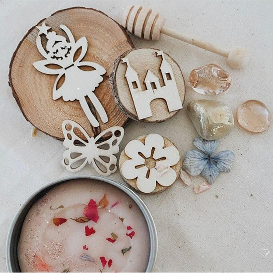 Wooden Stampers - Enchanted Mini Kit with Playdough