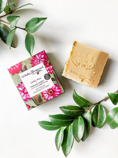 Urthly Organics - Camel Milk & Manuka Honey Soap