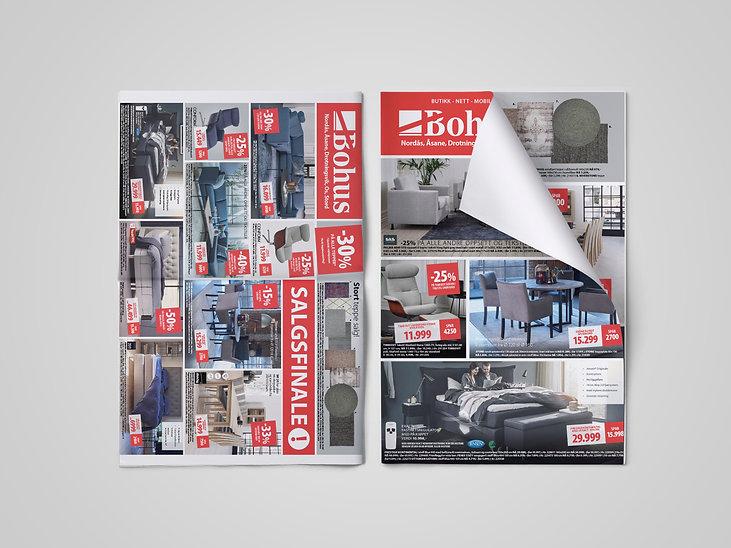 Bohus avis / Mistrol Reklamebyrå