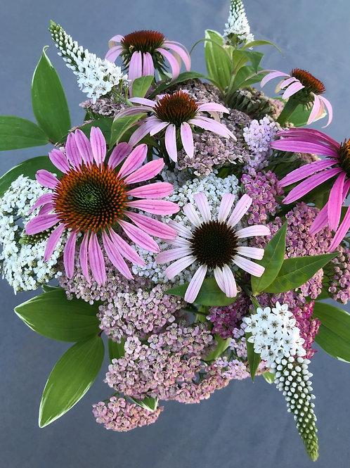 Mini Seasonal Mixed Flower Arrangement