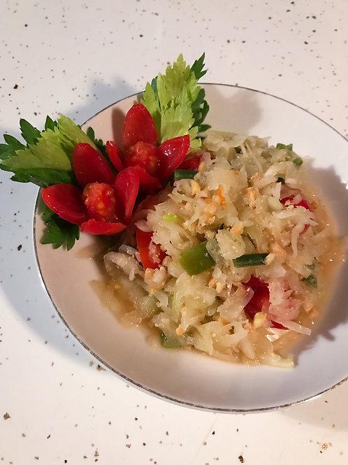 Som Tum Kit - Thai Green Papaya Salad