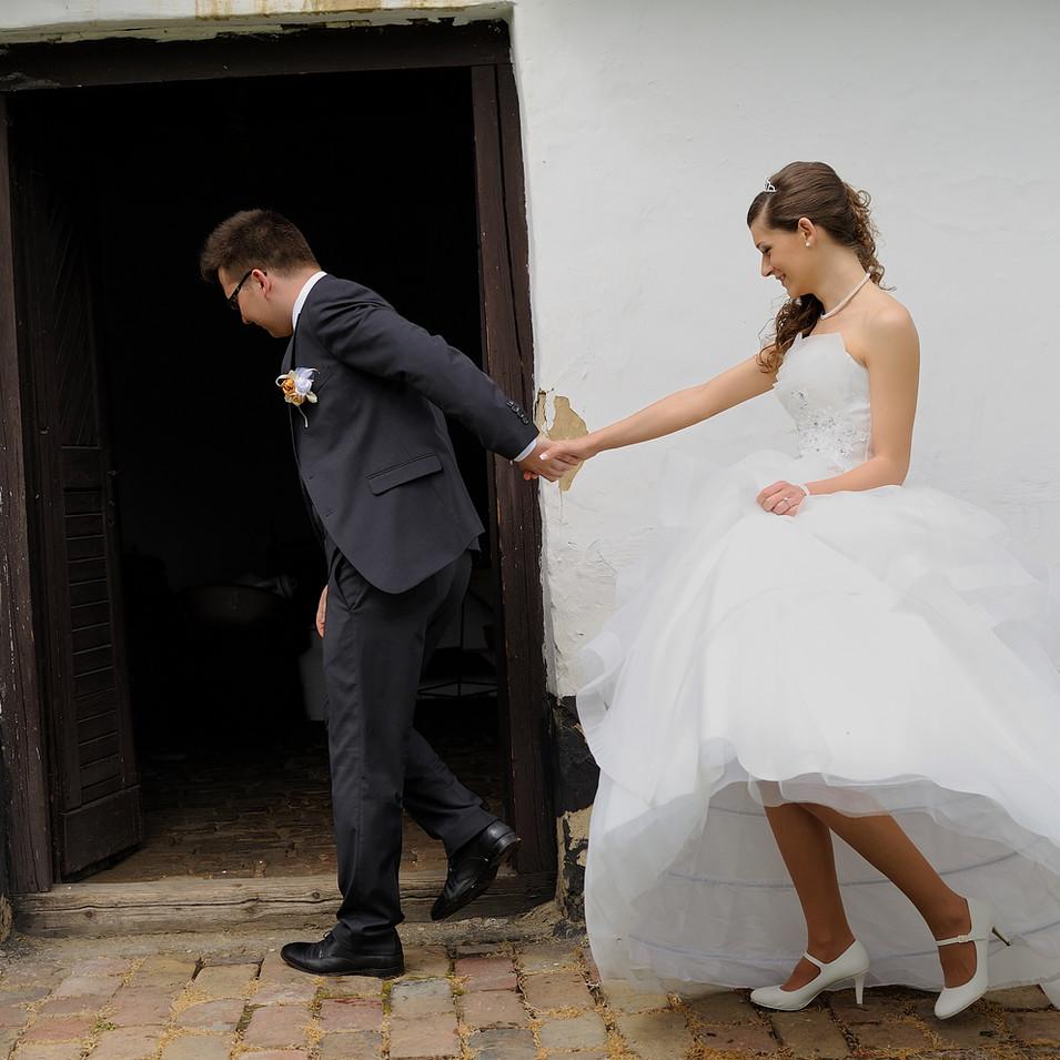 Dia és Endi esküvői fotói