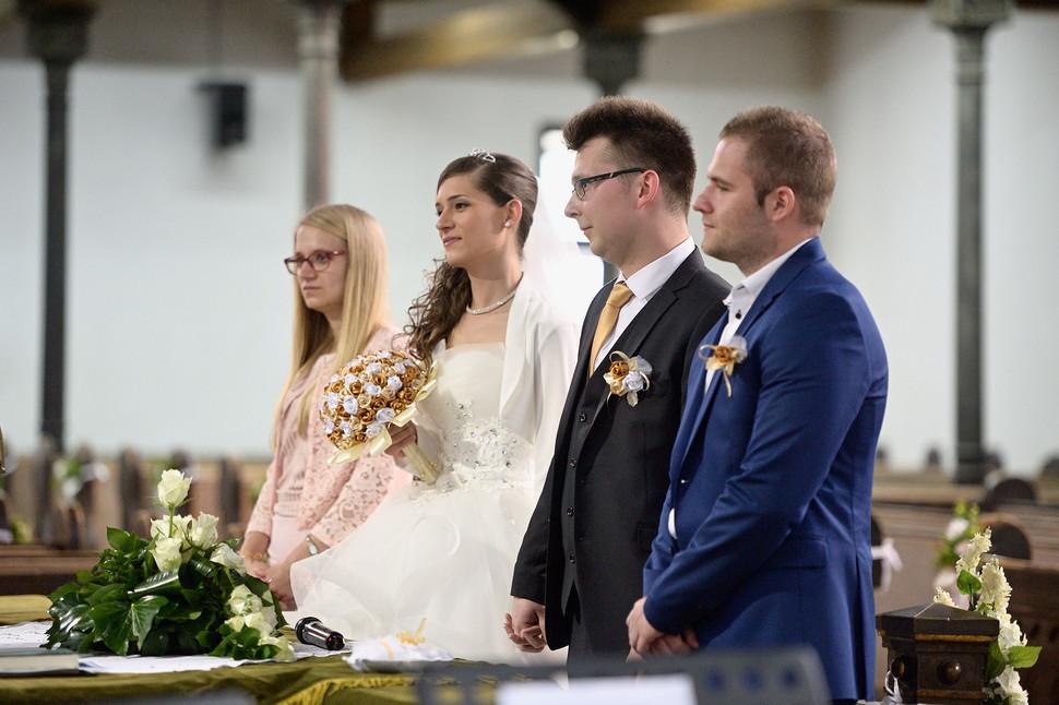 025 Esküvő fotózás - Dia és Endi - Templ