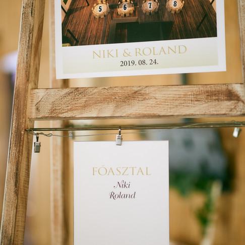Niki és Roland esküvői fotó albuma
