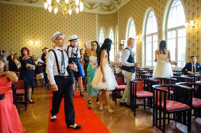 Esküvő fotózás videózás - Evelin és Kristopher - Polgári szertartás