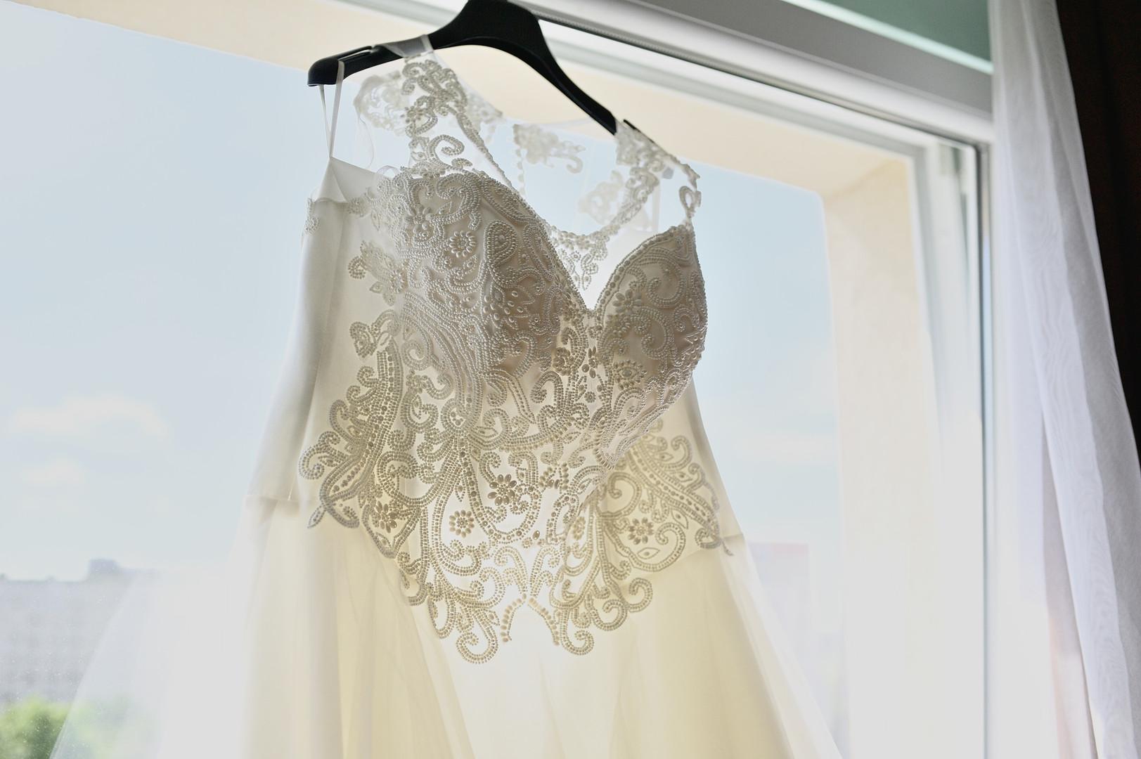 Esküvő fotózás - Enikő és Peti -  menyasszonyi ruha