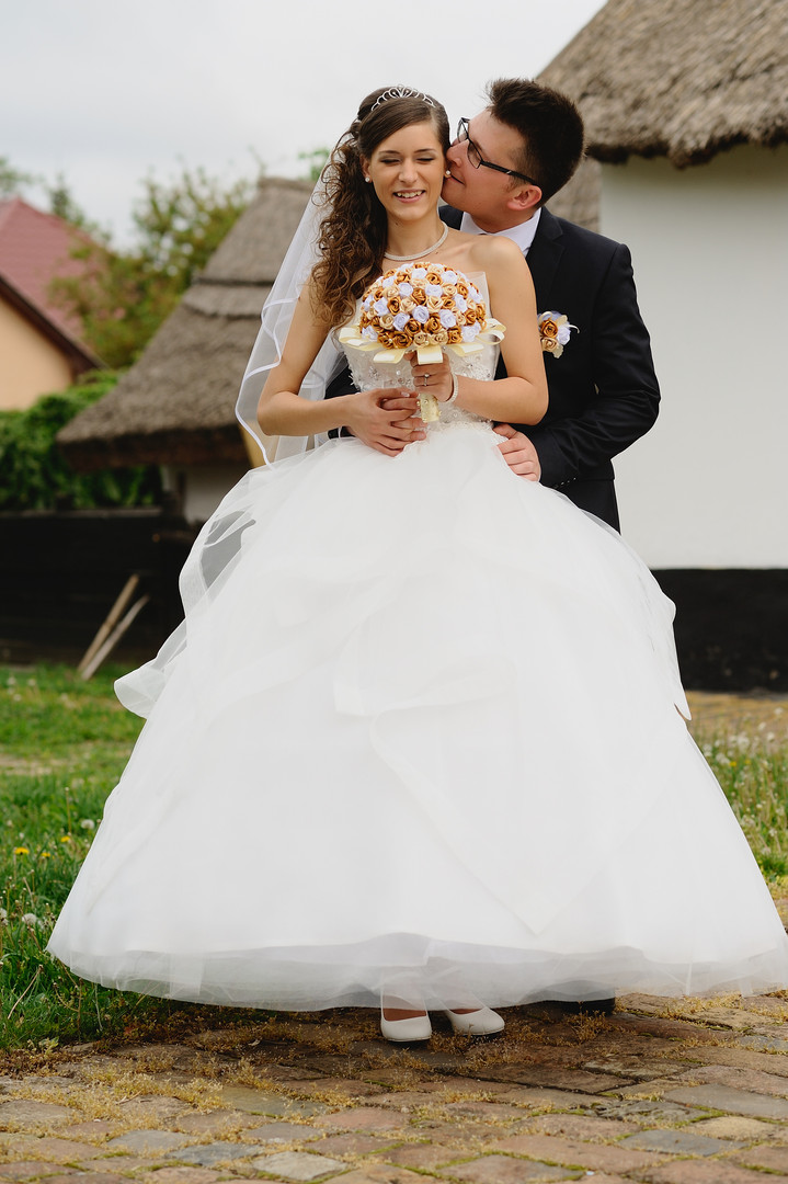 Esküvő fotózás - Dia és Endi - Kreatív fotózás