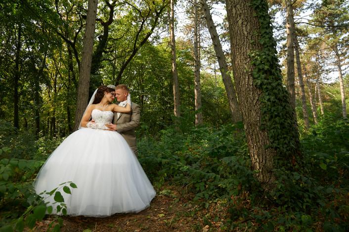 Dorina és Józsi esküvői fotói