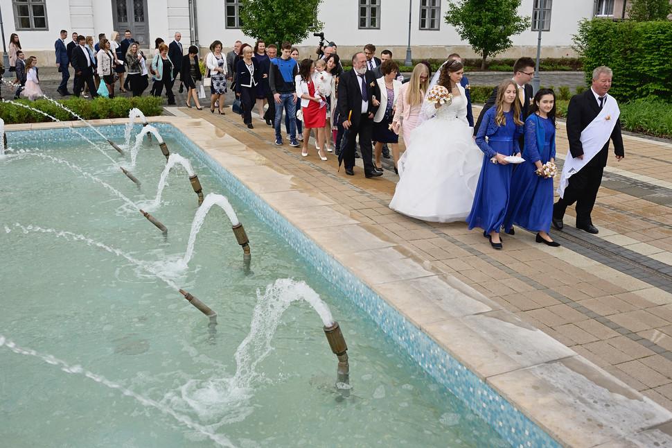 005 Esküvő fotózás - Dia és Endi - Templ