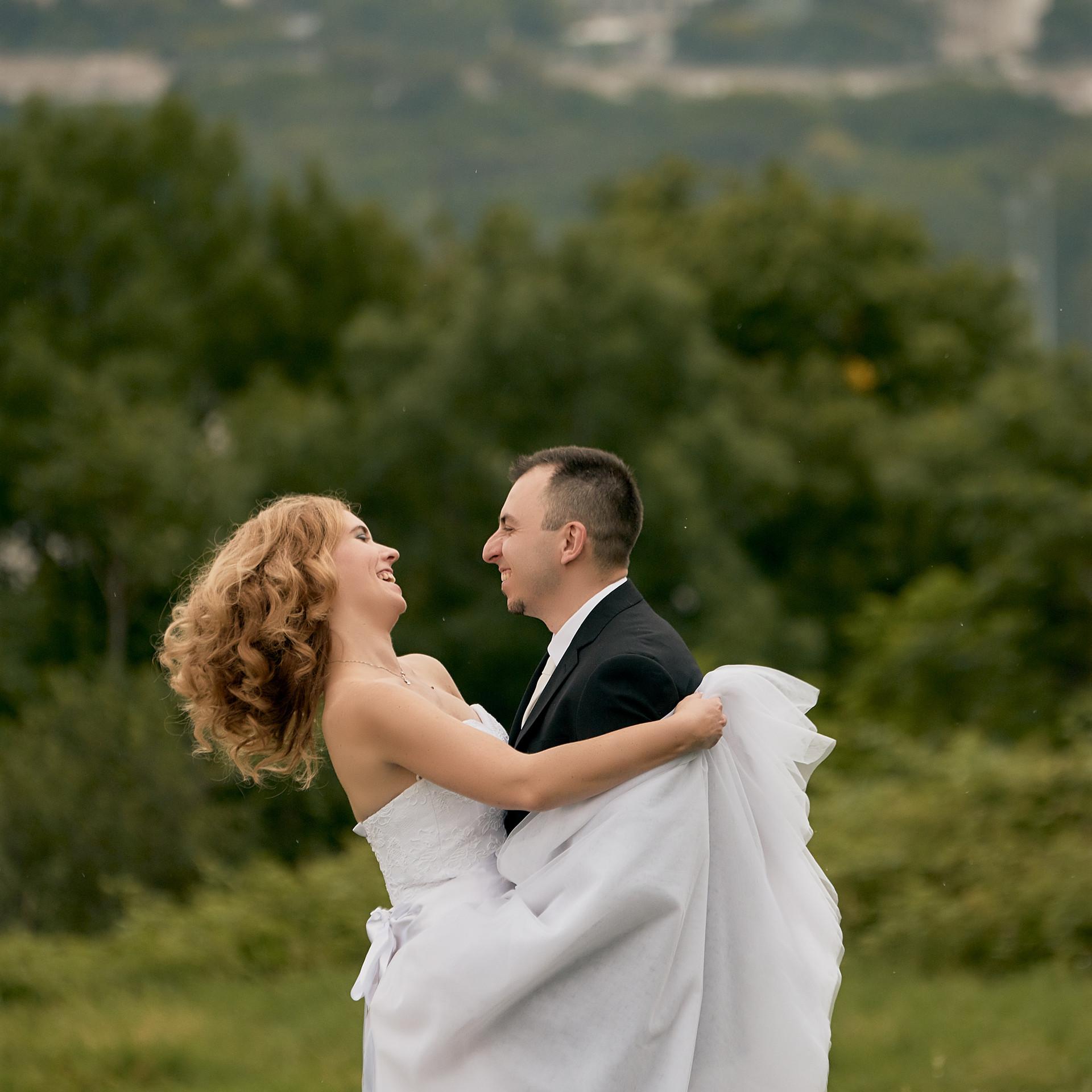 Évi és Csabi esküvői fotói