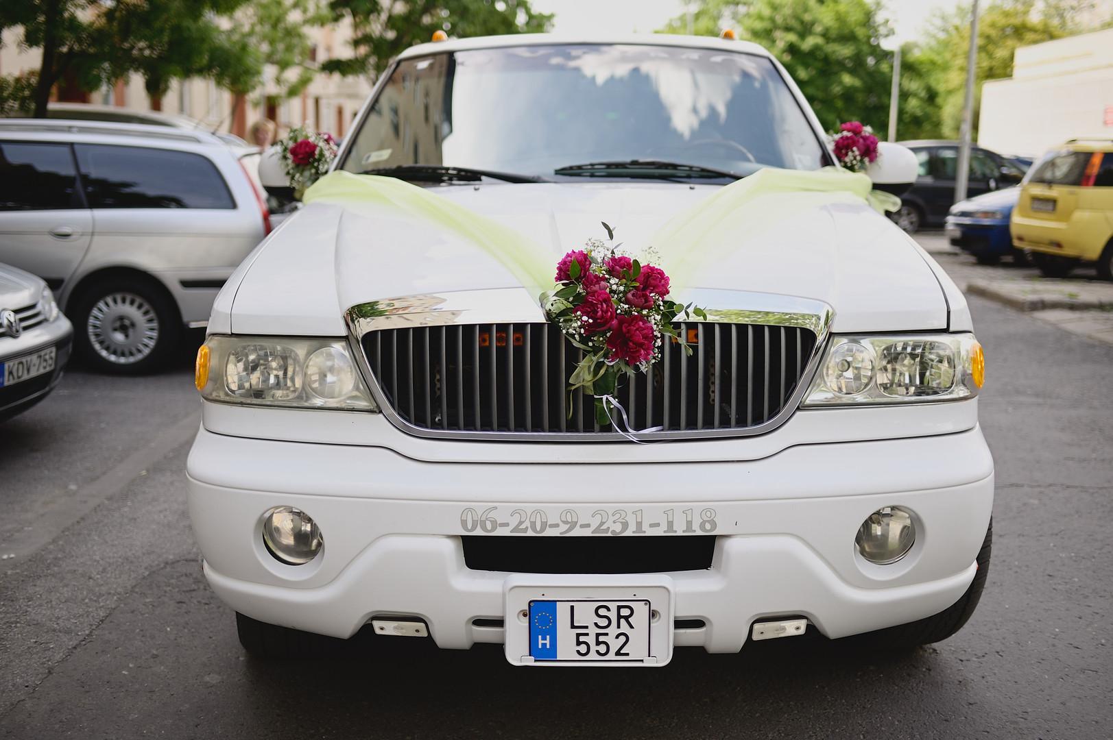 Esküvő fotózás - Enikő és Peti -  a menyasszonyi szekér
